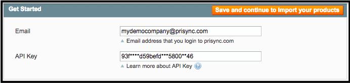 Prisync API