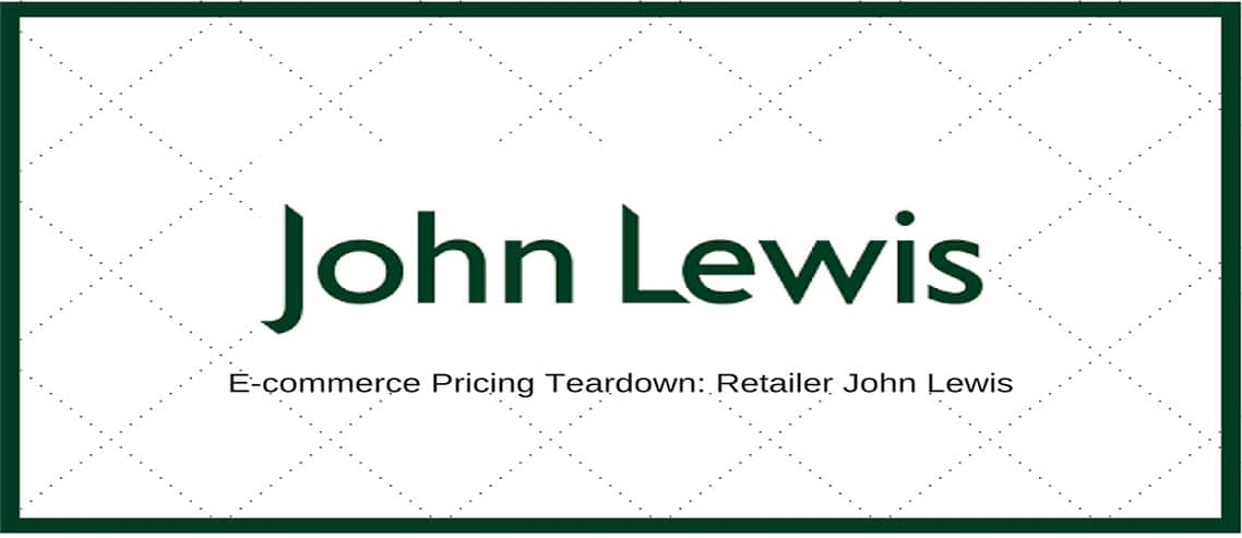 E-Commerce Pricing Teardown