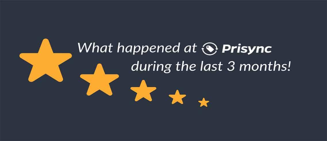 Prisync Updates 01