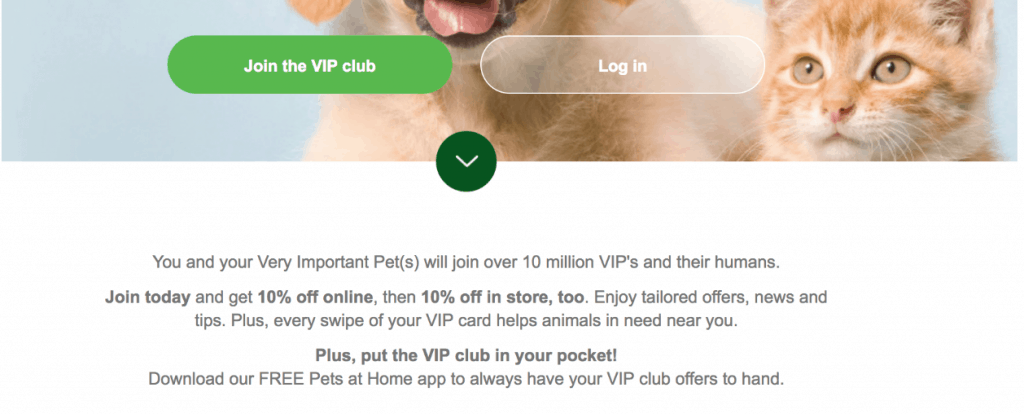 Pet Industry Marketing Loyalty Program
