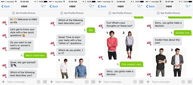Chatbots H&M