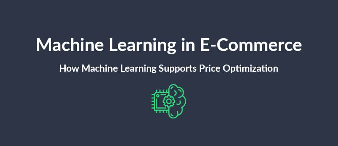Machine Learning in E-commerce How Machine Learning Supports Price Optimization