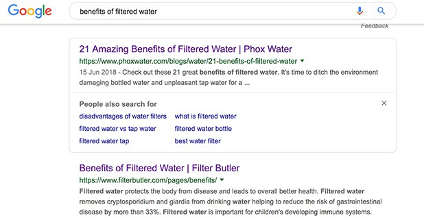 Benefits of Filtered Water Google Search