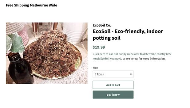Eco Soil Store Branding
