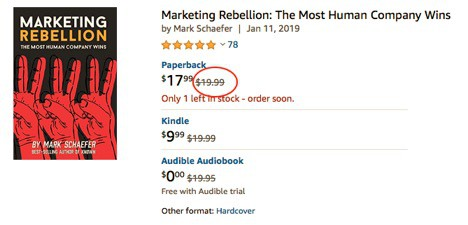 Marketing Rebellion Book Price