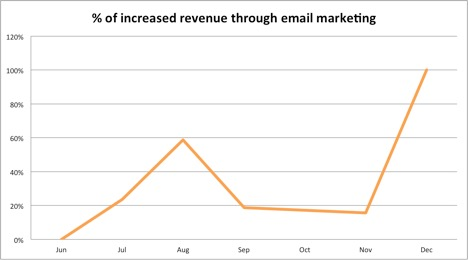 Southern Fin Email Marketing Result