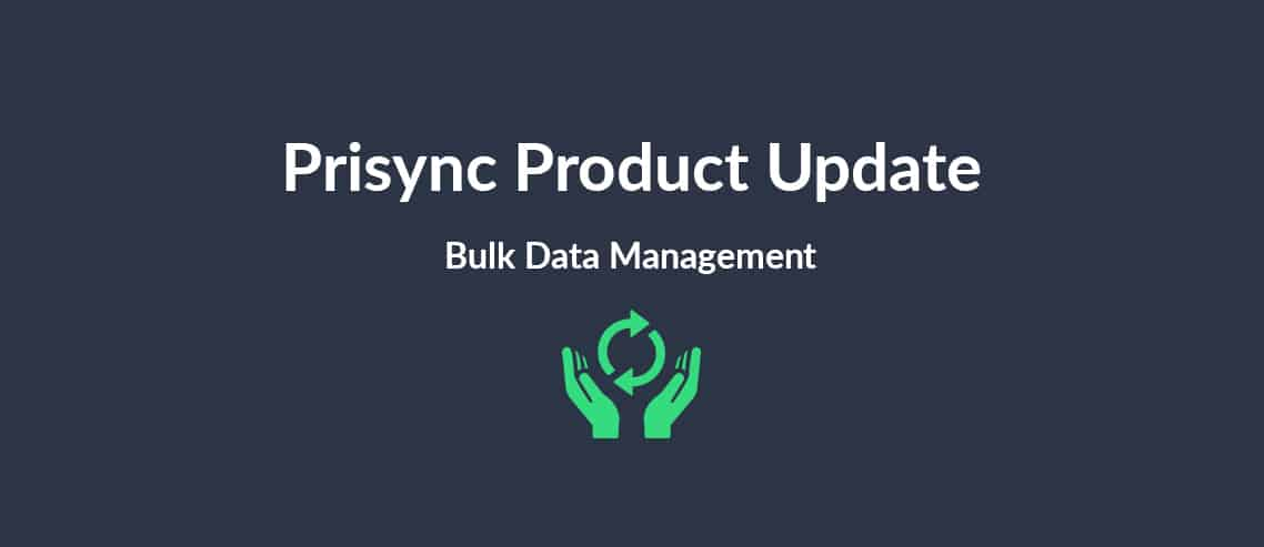 Prisync Product Update Bulk Data Management