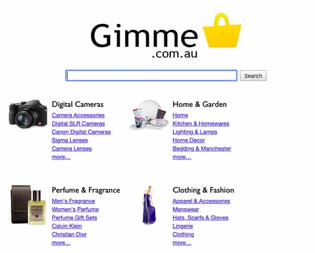 Gimme Comparison Shopping Engine