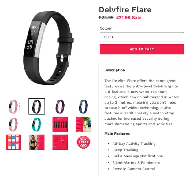 Delvfire Competitive Pricing
