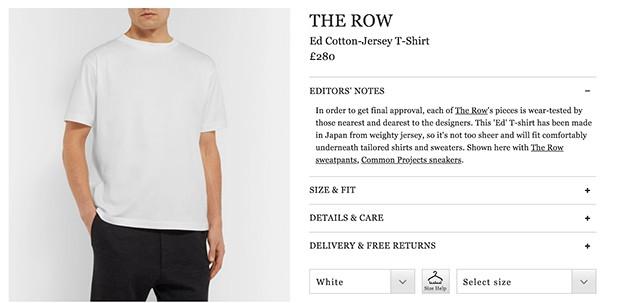 Premium Priced White Shirt