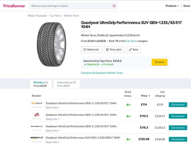 Price Comparison Engine