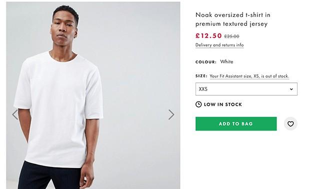 Regular Priced White Shirt