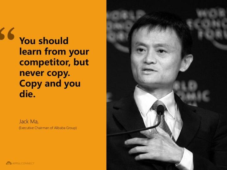 Jack Ma On Competitors
